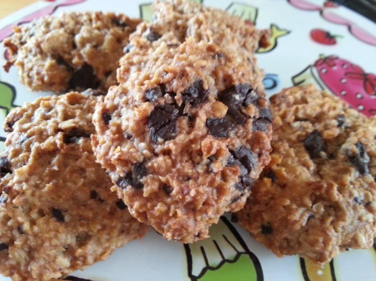 Sugarless chocolate chip cookies