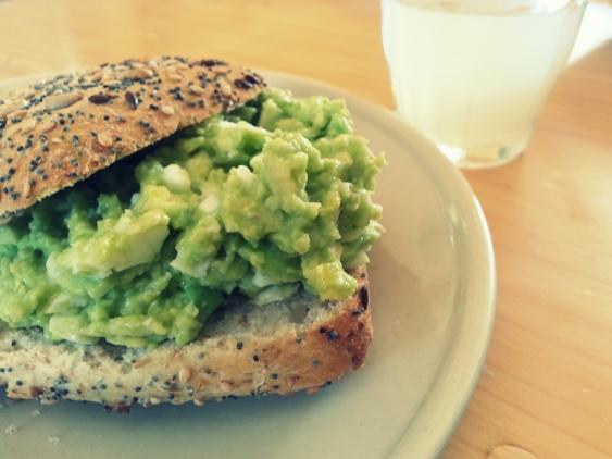 avocado egg ginger brunch (2)