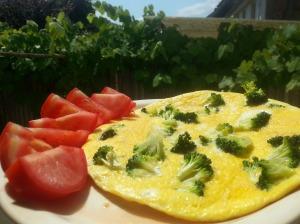broccoli omelette