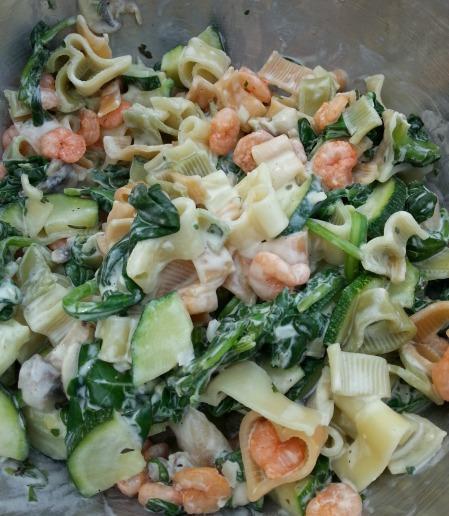 tricolore pasta