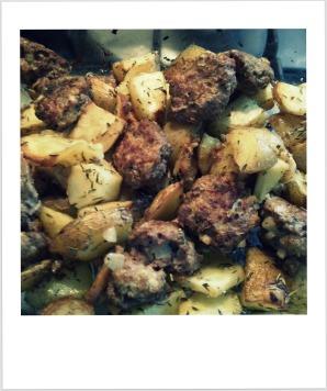 rosemary oven potatoes 2