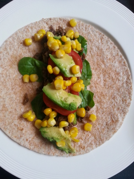 healthy wraps with spinach (12)